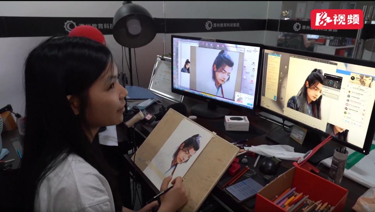 《湘江奔流——12小时网络直播》潭州教育直播线上授课画面